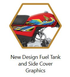 New Design Fuel Tank and Side Cover Graphics