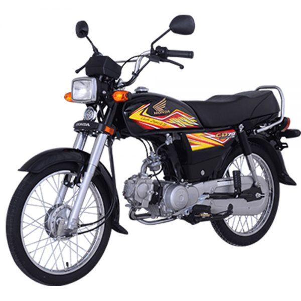 Honda CD70 Black