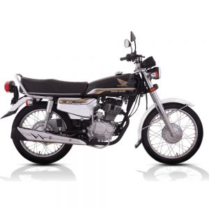 Honda CG125 Self SE Black
