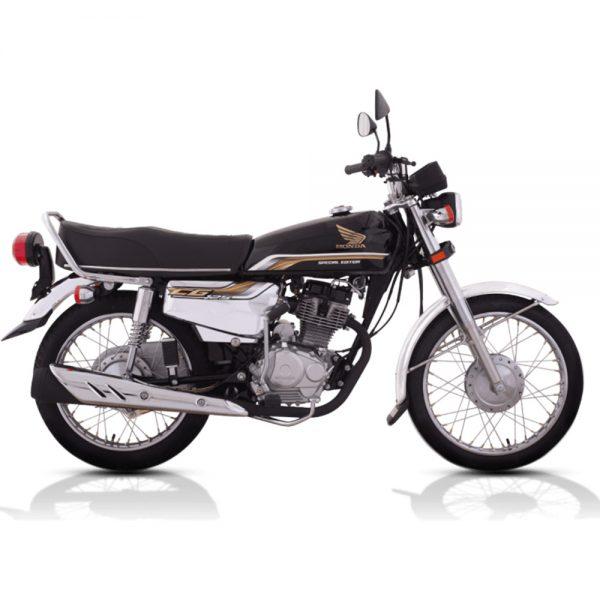 Honda CG125 Self SE Black