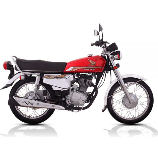 Honda CG125 on installments in Lahore
