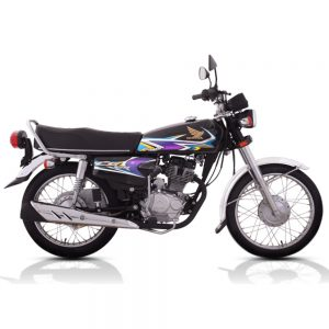 Honda CG 125 Self Black
